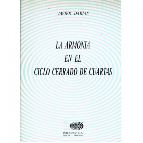 Darias, Javier. La Armonía en el Ciclo Cerrado de Cuartas. Musicinco
