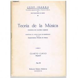 Ibarra, José Teoría de la Música 4º Curso Superior