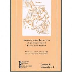 Jornadas Sobre Bibliotecas en Conservatorios y Escuelas de Músic