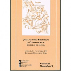 Jornadas Sobre Bibliotecas en Conservatorios y Escuelas de Música