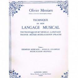 Messiaen, Olivier. Technique de mon Langage Musical Vol.2