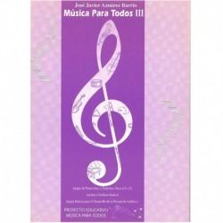 Aznarez Barrio, Jose javier. Musica Para Todos 3
