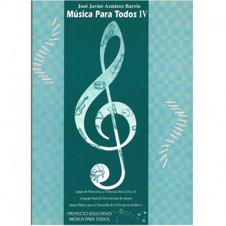 Aznarez Barrio, Jose Javier. Musica Para Todos 4