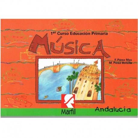 Pérez Mas/Pérez Botella. Música. 1º Educacion Primaria. Marfil