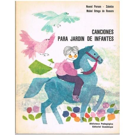 Porson/Ortega. Canciones Para Jardin de Infantes