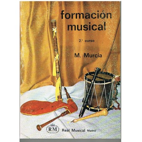 Murcia, Matilde. Formación Musical 2º Curso. Real Musical