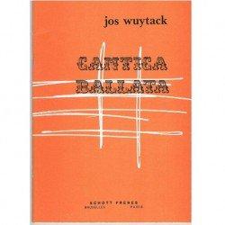 Wuytack, Jos. Cantica...
