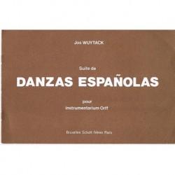 Wuytack, Jos Suite de Danzas Españolas (Instrumentación Orff)