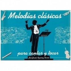 Aznarez Barr Melodias Clásicas Para Cantar y Tocar