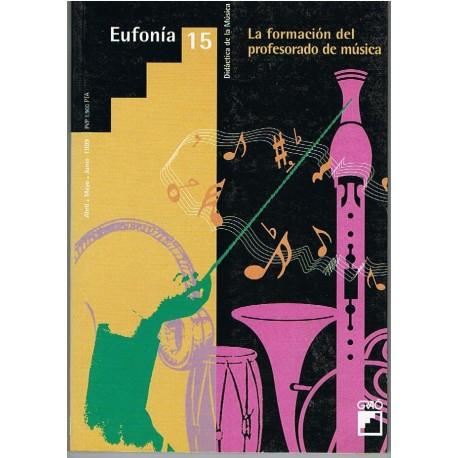 Eufonía 15. La Formación del Profesorado de Música