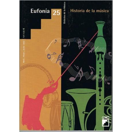 Eufonía 25. Historia de la Música