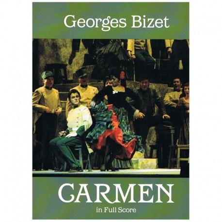 Bizet, Georges. Carmen (Francés) (Full Score). Dover