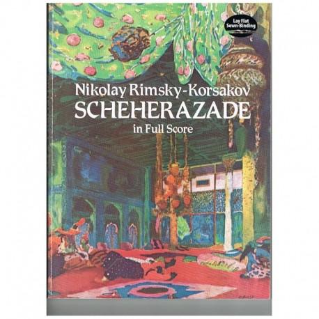 Rimsky-Korsakov. Scherezade (Full Score). Dover