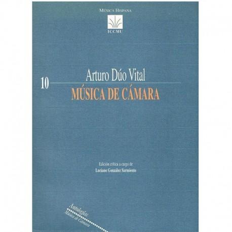 Dúo Vital, Arturo. Música de Cámara (Full Score). ICCMU