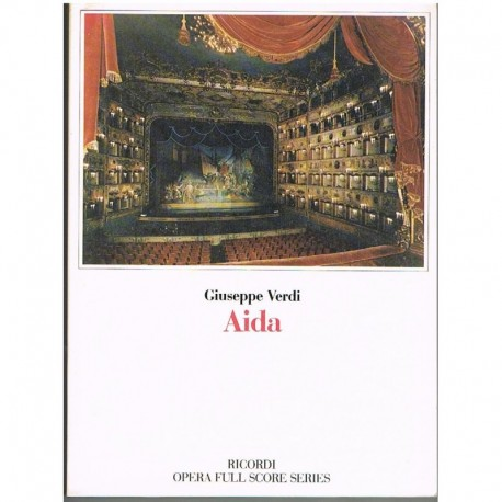 Verdi, Giuseppe. Aída (Full Score). Ricordi