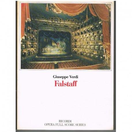 Verdi, Giuseppe. Falstaff (Full Score). Ricordi