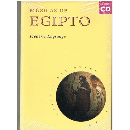 Lagrange, Frederic. Músicas de Egipto (+CD)