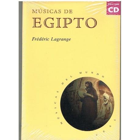 Lagrange, Frederic. Músicas de Egipto (+CD). Akal