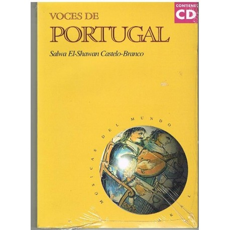Castello-Bra Voces de Portugal (+CD)