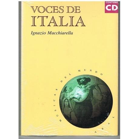 Macchiarella, Ignazio. Voces de Italia (+CD). Akal