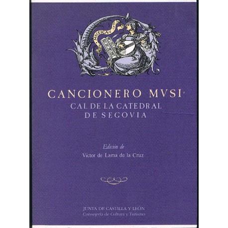 De Lama de La Cruz, Victor. Cancionero Musical de la Catedral de Segovia