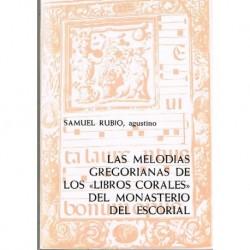 Rubio, Samuel. Las Melodías...