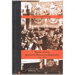 Capdevila I Tretze Anys de Joventuts Musicals de Barcelona (1963-1976)