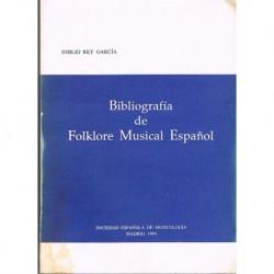 Rey García, Bibliografia de Folklore Musical Español