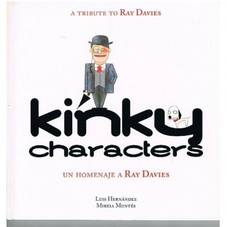 Hernández/Muntés. Kinky Characters. Un Homenaje a Ray Davies
