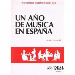 Fernández-Ci Un Año de Música en España (1986-1987)