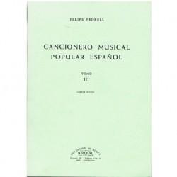Pedrell, Felipe. Cancionero...