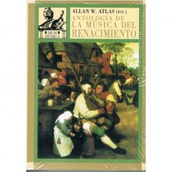 Atlas, Allan. Antología de la Música del Renacimiento