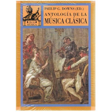 Downs, Philip. Antología de la Música Clásica