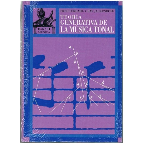 Lerdahl/Jackendoff. Teoría Generativa de la Música Tonal. Akal