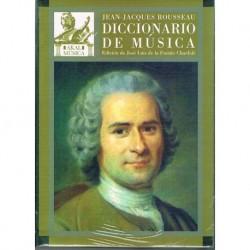 Rousseau, Je Diccionario de Música