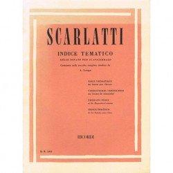 Scarlatti, Doménico. Índice...
