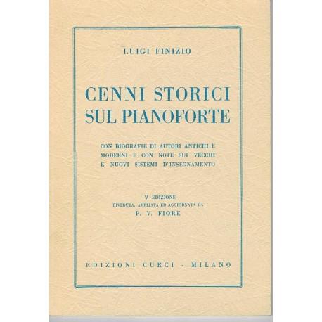 Finizio, Luigi. Cenni Storici Sul Pianoforte