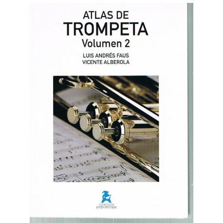 Faus/Alberola. Atlas de Trompeta Volumen 2. Rivera