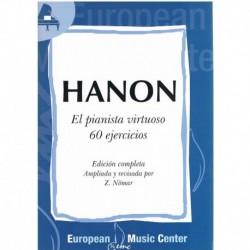 Hanon, Charl El Pianista Virtuoso. 60 Ejercicios