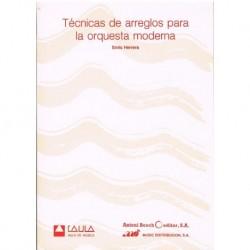 Herrera, Enr Técnicas de Arreglos para la Orquesta Moderna