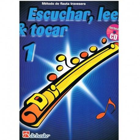 Broers/Kaste Escuchar, Leer y Tocar Vol.1 +CD (Flauta)