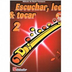 Broers/Kaste Escuchar, Leer y Tocar Vol.2 +CD (Flauta)