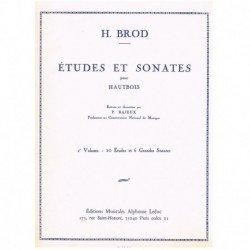 Brod, H. Estudios y Sonatas...