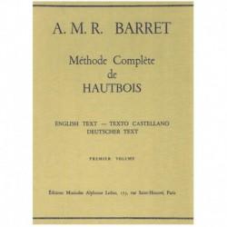 Barret, A.M. Método Completo de Oboe Vol.1