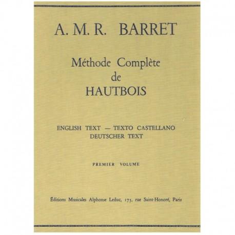 Barret. Método Completo de Oboe Vol.1. Leduc