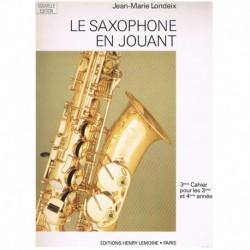 Londeix, Jea El Saxofón Ameno Vol.3 (Francés)