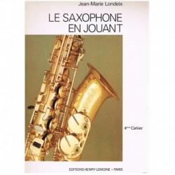 Londeix, Jean-Marie. El Saxofón Ameno Cuaderno 4º (Francés)