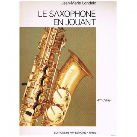 Londeix, Jea El Saxofón Ameno Vol.4 (Francés)