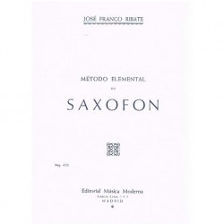 Franco Ribat Método Elemental de Saxofón