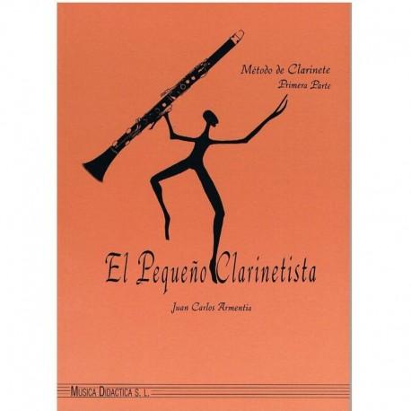 Armentia. El Pequeño Clarinetista Vol.1. Música Didáctica